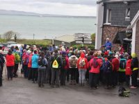 Some of the large group that set off on Saturday morning from Camp for Annascaul.