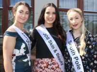 Kerry Rose contestants Jacinta Mulvihill, Cliona Daly and Bonnie Percival. Photo by Dermot Crean