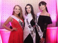 Contestants at the Miss Kerry 2017 contest in The Brehon Hotel on Friday night. Photo by Dermot Crean