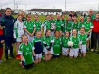 Na Gaeil U12 Girls' Team, Winners of the Billy Kissane North Kerry Division 2 Plate