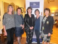 Ladies Open Day in Tralee Golf Club Sponsored by the Rose Hotel. In first place Mary Murphy, Philomena Stack,  Michelle King The Rose Hotel, Anita Lynch and Lady Captain Margaret Murphy.