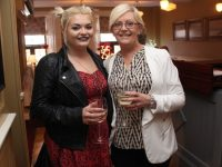 Jade and Mai Moynihan at the 'Arrival Of Summer' party at Kirby's Brogue Inn on Tuesday night. Photo by Dermot Crean