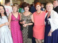 Marian Sullivan, Breda Bryne, Joan Holland, Ivanka Bozovayska and Joan Broderick at the Connect Kerry Women in Business Awards at Ballyroe Heights Hotel on Friday night. Photo by Lisa O'Mahony.