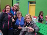 Ladies on the Dingle Way Challenge.