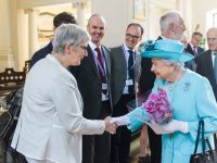 Tralee People Meet The Queen At Centenary Of Bombing Of School In London
