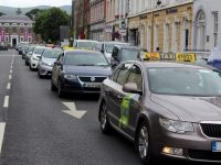 Taxi Drivers Protest As Incomes Plummet Due To Rank Problem