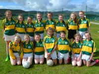 John Mitchels U13 team at the Sandra Keane Memorial Ladies Football Tournament on Saturday. Photo by Lisa O'Mahony.