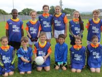 Youngsters at Kerins O'Rahillys GAA Cúl Camp on Friday. Photo by Dermot Crean