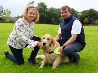 Anne and Gerry O'Riordan with Marcel. Photo by Dermot Crean