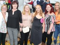 Mary Scannell, Patricia Flynn, Rachel Ryan, Nicola Dodson, Margaret Lyne and Sinead McCarthy at the Friends of University Hospital Kerry Night At The Dogs Fundraiser on Friday night. Photo by Dermot Crean
