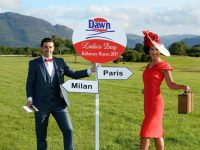 Style capital…Paris or Milan? Denise Healy winner of the Dawn Milk Ladies Day 2014 with her husband Aidan O'Mahony getting ready for this year's Dawn Milk Ladies Day at the Killarney Races on Thursday, July 20th, 2017.