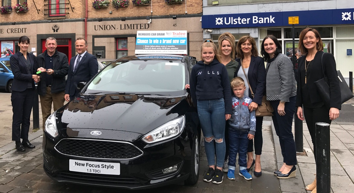 Tommy Takes Home A Ford Focus After Winning Credit Union