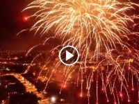 WATCH: Amazing Drone Footage Of The Parade And Fireworks On Saturday