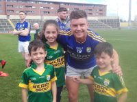 Ivan Parker celebrates Kerry's All Ireland junior final victory. He came on to contribute to the win.