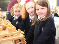 Little ladies in Spa NS on their first day at school on Thursday. Photo by Dermot Crean