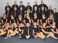 The contestants in the Austin Stacks Strictly Come Dancing on Saturday night. Photo by Dermot Crean