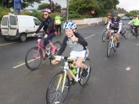 Taking off in the Ardfert Harvest Cycle on Saturday morning. Photo by Dermot Crean