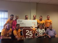 Bewleys Cyclists Present €1,000 To Kerry Hospice