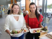 Amy and Marie McKenna at the opening event of the Tralee Food Festival at Tralee Bay Wetlands on Friday evening. Photo by Dermot Crean