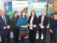 Launching the new Tourism with Business Course at Kerry ETB were Kerry Tourism Officer John Griffin; Evening Course Manager Kerry ETB Training Centre, Caroline Pull; Area Training Manager, Nora O'Callaghan; Manager of Go Kerry, Grace O'Donnell; CEO of NEWKD Eamon O'Reilly; Kerry ETB Training Officer, Sharon Browne. Photo by Dermot Crean