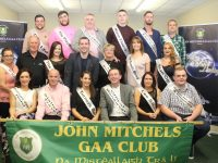 Most of the participants in the second John Mitchels GAA Strictly Come Dancing event with Chairman of the Club Denis Mannix and MC Brian Hurley. Photo by Dermot Crean