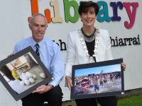 Pictured Tommy O'Connor, Kerry Co. Librarian and Cllr Norma Foley Mayor of Tralee . Tralee Library will host this years - PPAI photojournalism Exhibition from Monday, 2 October - Wednesday, 18 October. The Exhibition will be opened by Mayor Of Tralee Cllr Norma Foley on Monday 2nd Oct at 7 pm in Tralee Library  , ( all welcome ) .  A selection of Ireland's best examples of press photography from Ireland and over Seas will go on display in Tralee ... The PPAI Photojournalism Exhibition showcases award winners and entrants to the Association of Ireland (PPAI) awards in  Tralee Library  Photo By : Ann Walsh ©  Eye Focus LTD ©  Tralee Co Kerry Ireland  Phone  Mobile 087 / 2672033 L/Line 066 71 22 981  E/mail - info@dwalshphoto.ie        www.dwalshphoto.com
