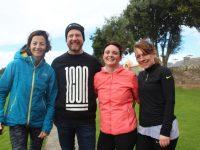 Una Lynch, Sean Lynch, Helen O'Shea and Kay Griffin at the St Pat's GAA Club 5k fun run/walk on Sunday morning. Photo by Dermot Crean