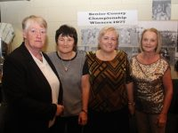 Ann Eager, Jackie Moriarty, Sheila Power and Noreen Power at the 40th anniversary of the Austin Stacks Ladies 1977 Championship winning team. Photo by Dermot Crean