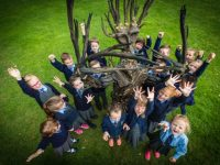 Celebrate Tetra Pak Tree Day by planting a tree this October 6th  The Tree Council of Ireland supported by Tetra Pak, is delighted to launch Tetra Pak Tree Day themed 'Tell me How to Make a Difference', which will take place on Thursday 6th October.  Pic shows children from Stanhope Street Primary School  celebrating the launch of National Tree day with Tail Skinner the Tree Man in the Phoenix Park Yesterday (Mon). On Tetra Pak Tree Day primary schools and families nationwide are invited to spend the day learning about trees and being outside enjoying their natural environment.  As part of this year's campaign, over 1,000 Rowan tree saplings will be made available free of charge through the website, www.treeday.ie, for primary schools to help teach children about the importance of planting trees to improve biodiversity on the school grounds.   Pic. Keith Arkins No Repro fee  For further information please contact:  Shane Nolan – Drury|Porter Novelli - 01 2605000  shane.nolan@drurypn.ie