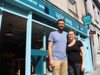 David Leonard and Lucie Hanrahan, who have just opened Ugly Mug on Edward Street. Photo by Dermot Crean