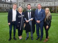 Eoin, Jenny, Larry, Pat and Kate Sheehy from Tralee. Larry graduated with a degree in BSc. Business Information Systems (BIS) from UCC on Wednesday, October 18th.
