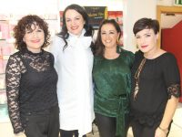 Anne Marie Jones, Triona McCarthy, Siobhan O'Mahony and Cindy Walsh at the 'Autumn Beauty Edit' at CH Chemists on Friday night. Photo by Lisa O'Mahony.