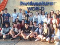 PHOTOS: Gaelcholáiste Fifth Years Bask In Sunshine On Trip To Barcelona