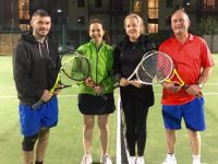 Stephen Roche, Miriam Rohan, Sorcha Finnegan & Timmy Hennessy, Mixed Doubles Finalists.
