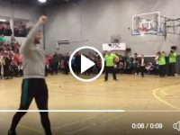 WATCH: Barry John Keane Makes Half-Court Shot At Warriors Game