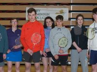 the Castleisland Division 5, Team taken today Killarney Sports & Leisure Centre who won the Division 5 Knock-Out Cup. L/R ; Luke O'Loughlin, Sheera Dalton O'Neill, Dylan Browne, Eibhlís Brosnan, Conor O'Sullivan, Máire Bradley, Josh Horan.