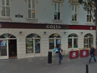 Costa Coffee's outlet on The Mall.