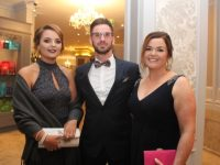 Shauna Enright, Mark Bright and Anne Marie Bright at the Class of 2017 IT Tralee Mental Health and General Nursing Graduates Ball at The Rose Hotel on Saturday night. Photo by Dermot Crean