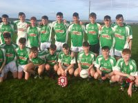 Na Gaeil U16 team that defeated Churchill in the U16 St Brendan's Championship.