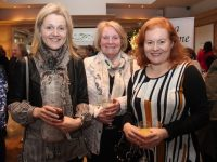 Anne Marie O'Neill, Mary Casey and Breda Casey at the Radio Kerry Talkabout Afternoon Tea Party at Ballygarry House Hotel on Sunday. Photo by Dermot Crean