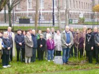 The tree planting ceremony on Wednesday in Tralee Town Park to mark 30 years of St John of God Services in Kerry.
