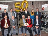 At the Tralee Credit Union AGM last night in The Rose Hotel were; Front Row from left; Sean Roche, John O'Connor, Tom Lawlor, Aoife Lynch, John Welch. Back Row: Michael O'Sullivan, Eddie Enright, Richard Bono, Caroline Sugrue, Pa Laide, Una Glazier-Farmer, Danny Kerins. Photo by Dermot Crean