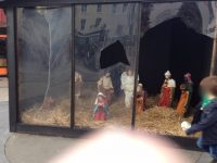 Crib Vandalised And Jesus Figure Stolen In The Square
