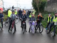 PHOTOS: Families 'Cycle The Line' To Highlight Tralee-Fenit Greenway Issue