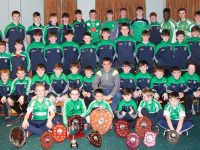 Na Gaeil U12 , U14 and U16 teams at their Awards Night in the Clubhouse on Friday.