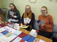 Fifth Year Presentation students at their Christmas market.