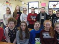 Pres students wearing their Christmas Jumpers in aid of Ronald McDonald House.