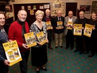 Looking forward to Friday night's book launch at the Austin Stacks Clubhouse on Friday night were Seamus Smith, Billy Ryle, Mairead Fernane, Tadhg McMahon, Martin Collins, Kerry O'Shea, Tim Slattery and Adrienne McLoughlin. Photo by Dermot Crean