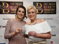Maureen and Frances McCarthy of Brush N Blush with their latest award.
