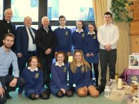 Bishop of Kerry Ray Browne launching Catholic Schools Week at Pobalscoil Chorca Dhuibhne last week.